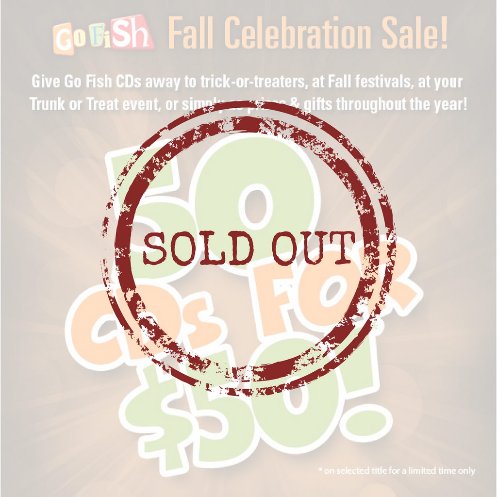 Go Fish Fall Celebration Sale