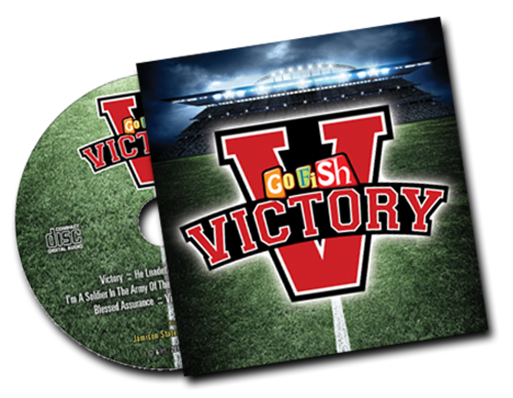 Victory CDs are also available to purchase in packs of 20 and are a great way for children to remember what they learned at VBS all year long!  Each kit includes 1 sample of this awesome CD from Go Fish.