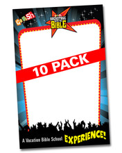 Backstage Promotional Posters - 10 pack
