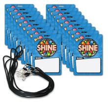 Shine VIP Pass & Lanyards (20-PACK)
