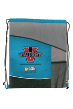 Your entire kit comes packaged in a Victory drawstring backpack that you can use for all your VBS materials.  Extra bags are also available at www.GoFishResources.com!