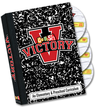 Your Victory Media Pack contains a Go Fish Victory music CD, Victory music DVD (featuring Go Fish music videos with onscreen lyrics and choreography, karaoke videos, split track videos, and promotional videos), Victory CD-Rom (includes digital leader manuals to email or print, promotional materials, skits scripts, craft templates, artwork files, sheet music, and more), and the Victory DVD-Rom (includes all video files in both Mac and PC formats to use with presentation software).