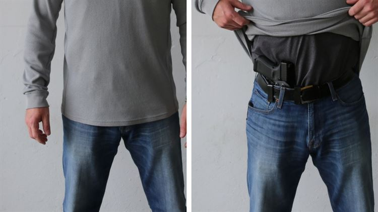 Don't Ask, Don't Tell: Concealed Carry Holsters | Tucker Gunleather