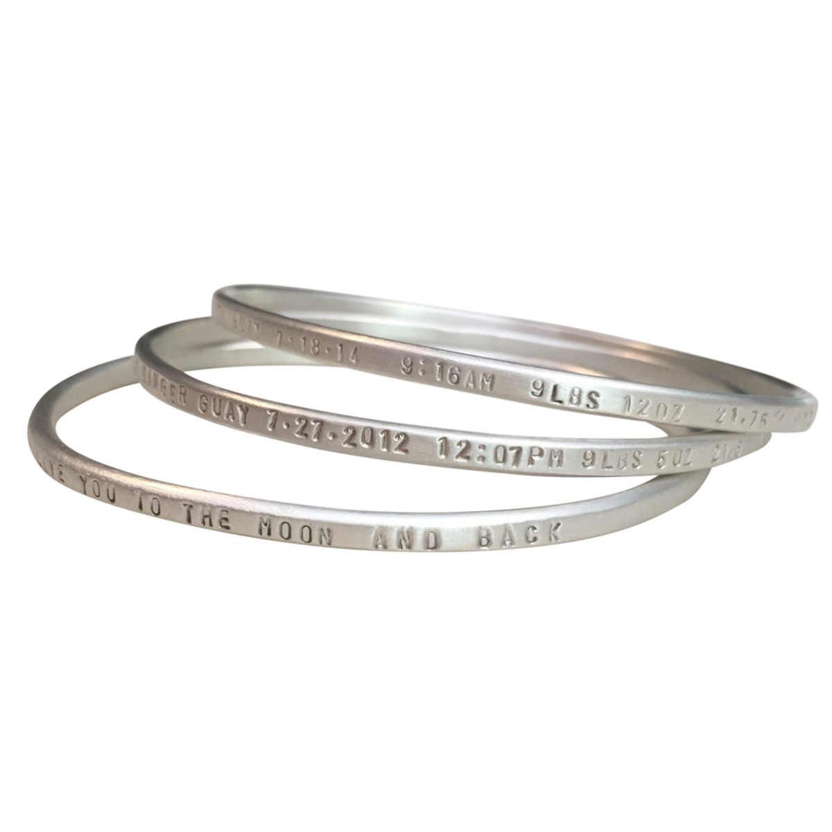 us pack bracelets silver icing tone holographic bangle jewellery