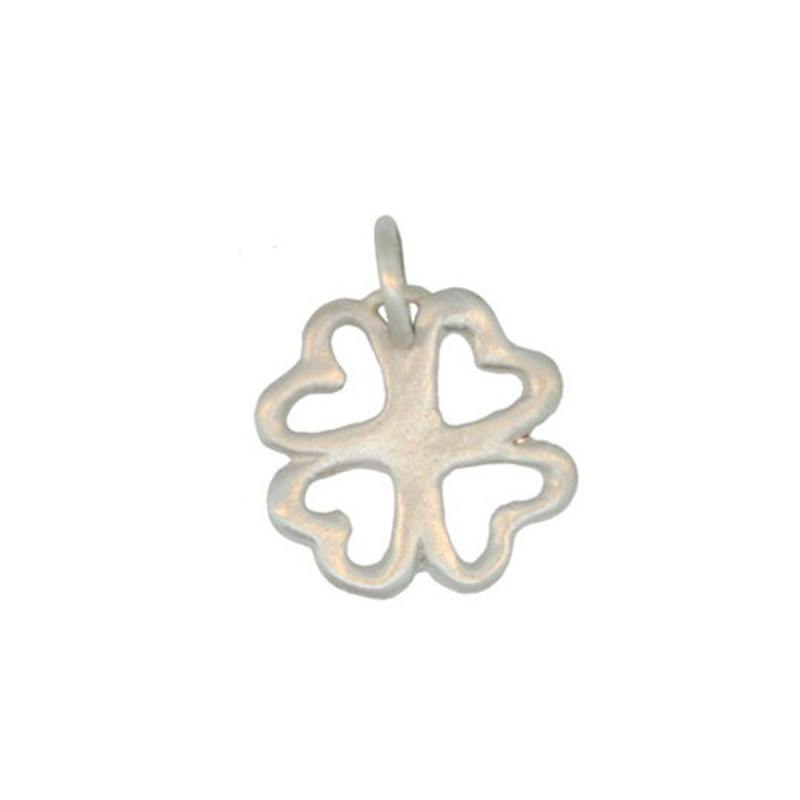 Clover Charm Silver or Gold