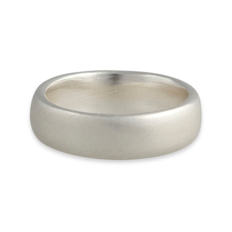 Stackable Personalized 6mm Ring Band