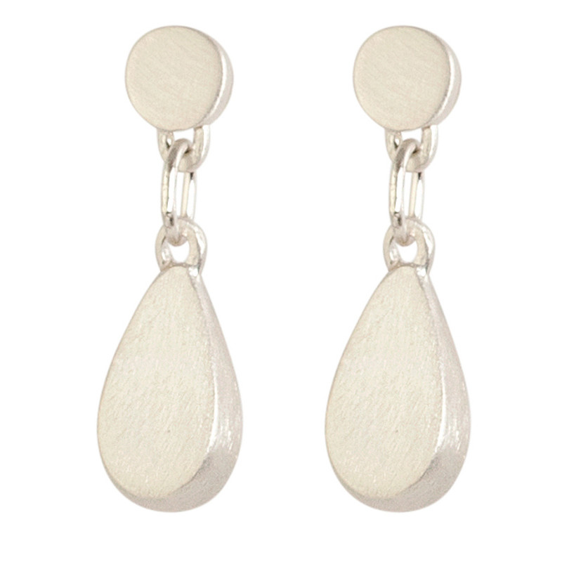 NEW Medium Teardrop Earrings Silver or Gold