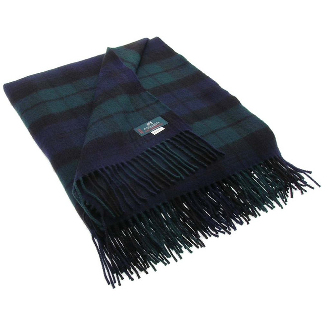 Black Watch Modern Tartan Blanket