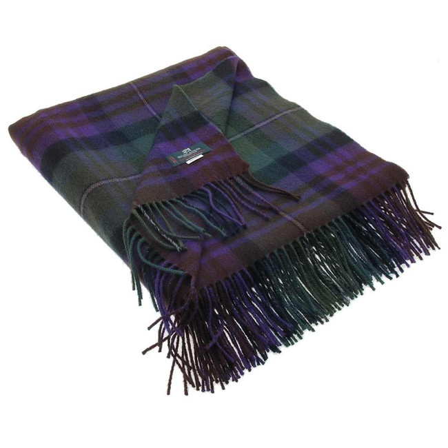 Isle of Skye Tartan Blanket
