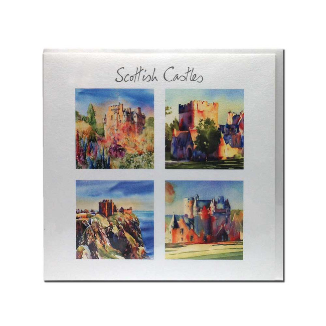 Scottish Castles card (set 1)