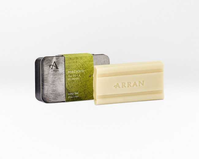Machrie for Men Enriching Bar Soap (formerly Driftwood)