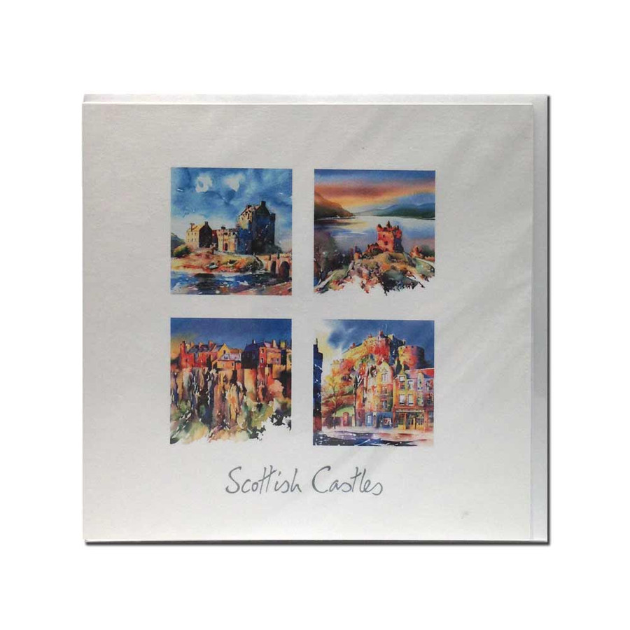 Scottish Castles card (set 2)
