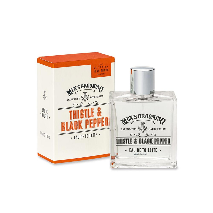 Mens Thistle and Black Pepper Cologne