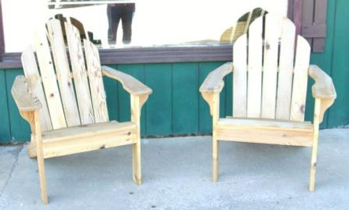 outdoor wood furniture from twisted river woodworks