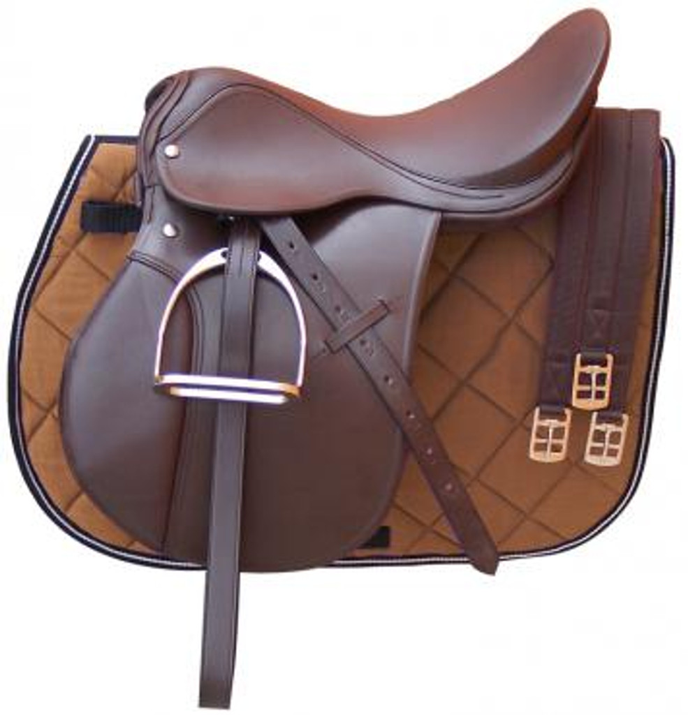 Eureka 5 Piece Leather General Purpose Saddle Kit