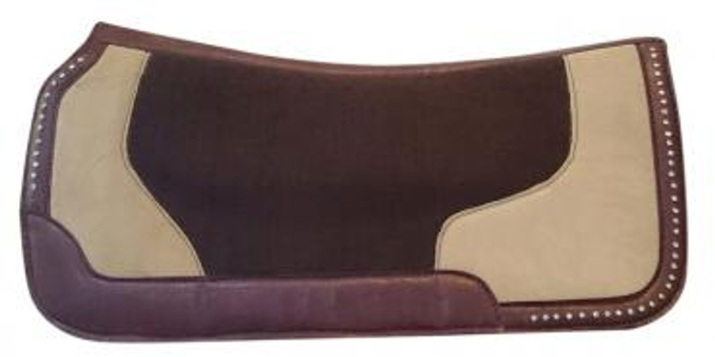 Western Felt Saddle Pad With Diamontes