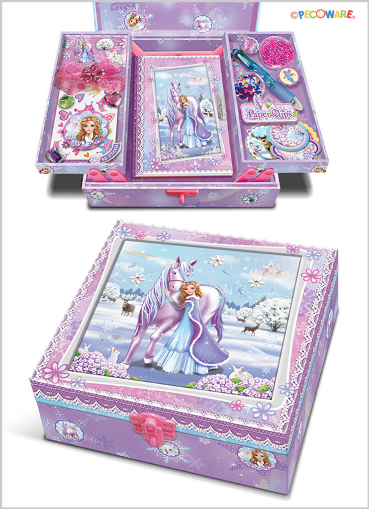 Snowflake Princess Make Your Own Secret Diary Set