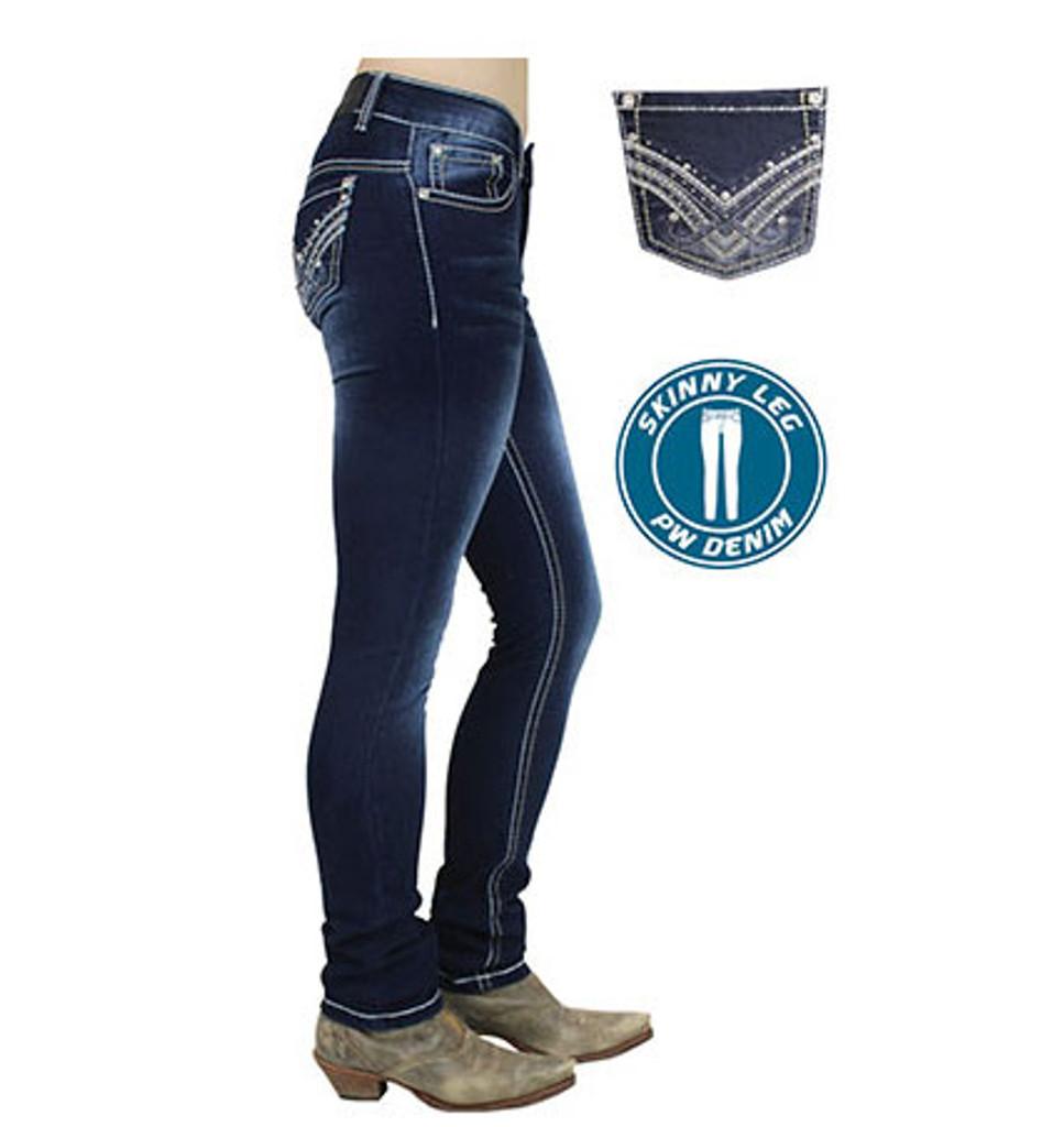 Pure Western 'Harlee' Womens Skinny Leg Jeans