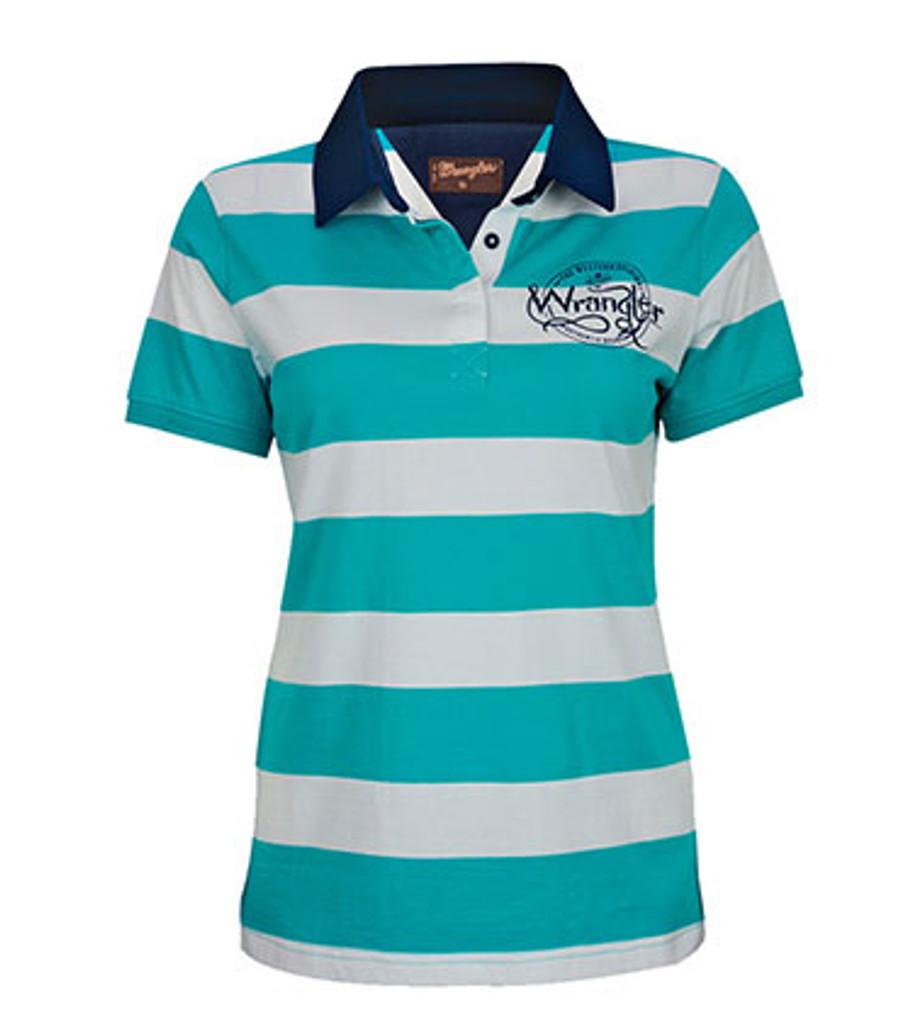 Wrangler Womens Sydney Polo Shirt