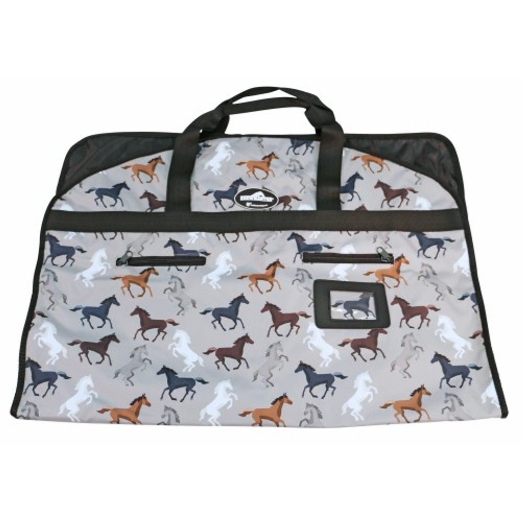 Showmaster Garment Carry Bag (Horse Print)