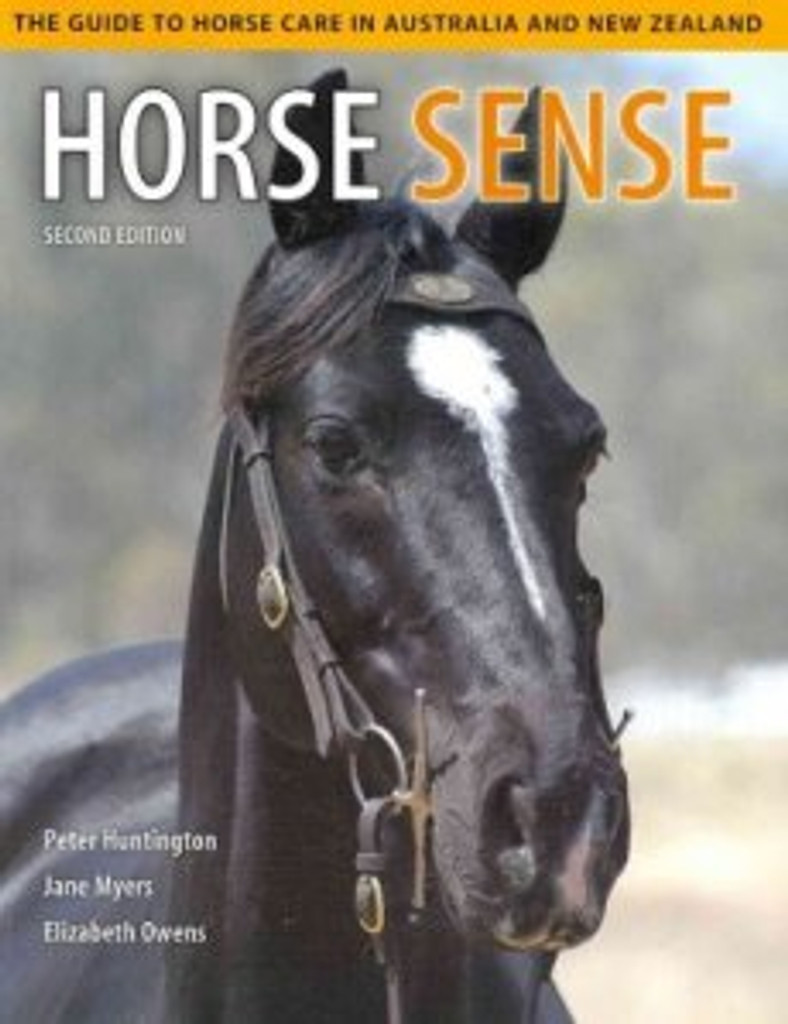 CLEARANCE: Horse Sense: The Guide to Horse Care in Australia and New Zealand (Book)