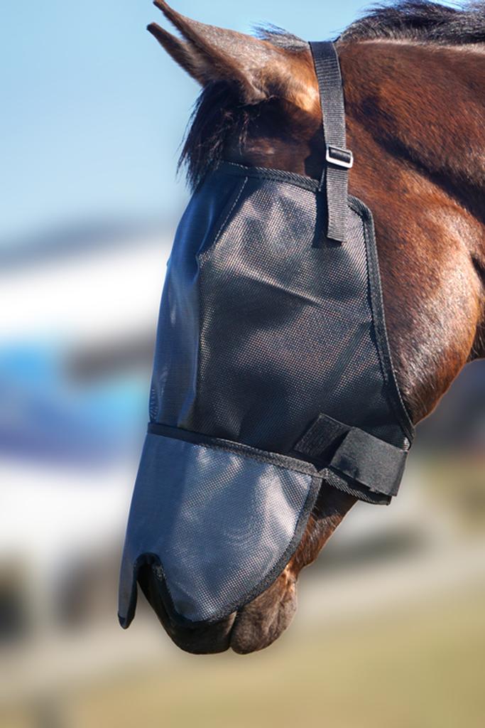 Flyveils By Design 100% Blockout Shaped Nose Cover Flyveil *NEW*