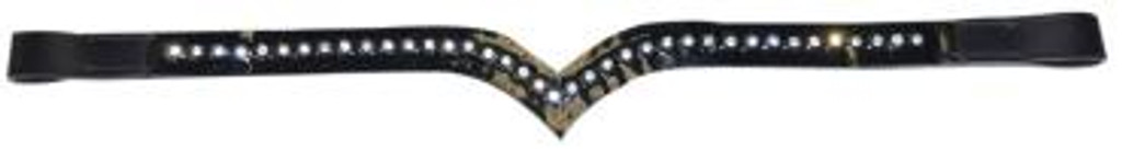 Mowbray 'V' Diamonte Browband