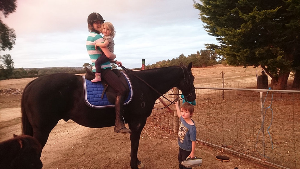 Why horse crazy mums should never ever give up on their dreams…
