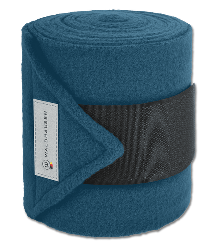 Waldhausen Esperia Polar Fleece Bandages - Deep Ocean Blue