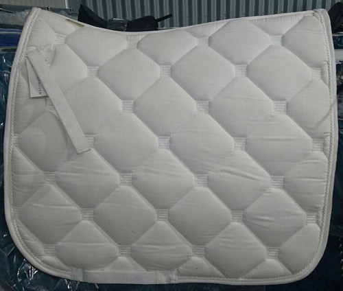 Waldhausen Esperia Dressage Saddle Pad (White)
