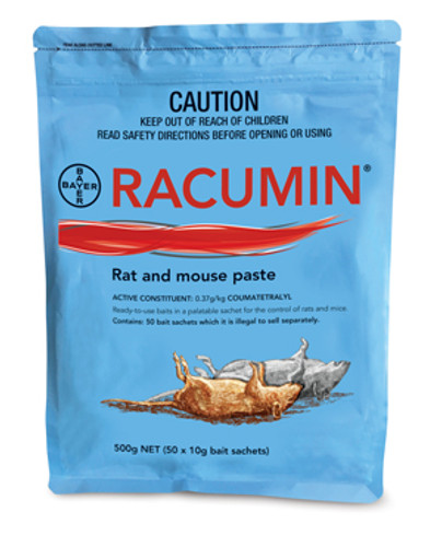 Bayer Racumin Rate & Mouse Paste