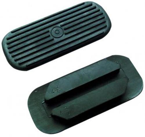 Rubber Stirrup Treads Black
