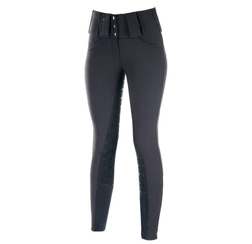 Horze Desiree Ladies Breeches (Dark Blue)