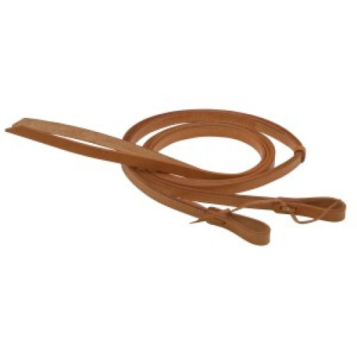 Texas-Tack Split Reins w/Tie Ends (Dark)