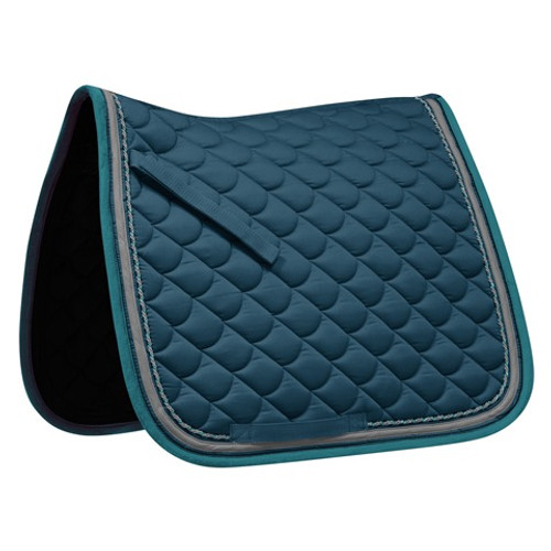 Waldhausen ROM Dressage Saddle Pad - Peacock Green