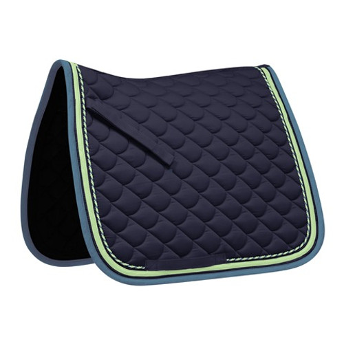 Waldhausen ROM General Purpose Saddle Pad - Navy / Green