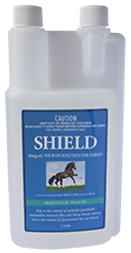 SHIELD Pour-On Solution for Horses