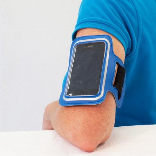 Smart Phone Arm Band (Blue)