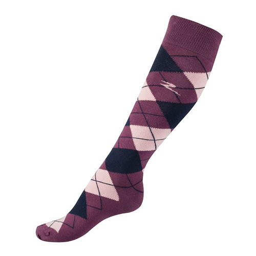 Horze Alana Checked Riding Socks (New Colours 2018)