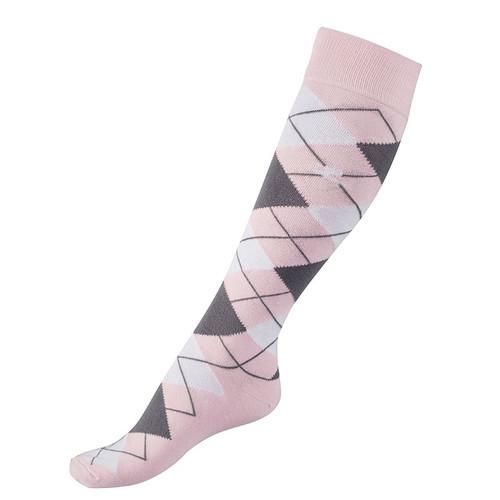 Horze Alana Checked Riding Socks (New Colours 2018)