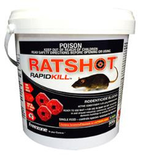 iO Ratshot One Shot Blocks 250gm (RED)