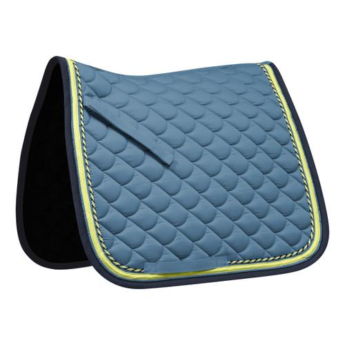 Waldhausen ROM General Purpose Saddle Pad - Blue / Lime