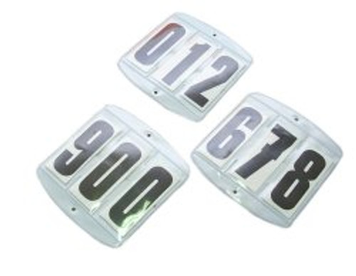 Competition Numbers Set (For Saddle Cloth) - Set of 2