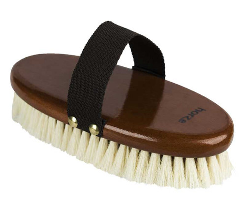 Horze Natural Body Brush (Wood Backed)