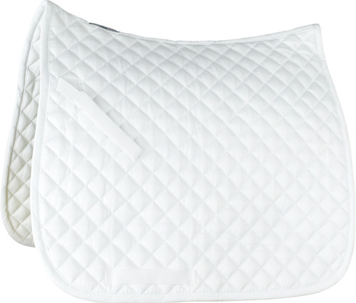 Horze Prinze Dressage Saddle Pad (White)