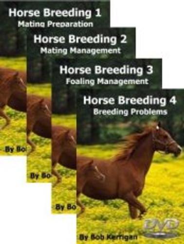 Horse Breeding Volumes 1-4 (Australian DVD Titles)