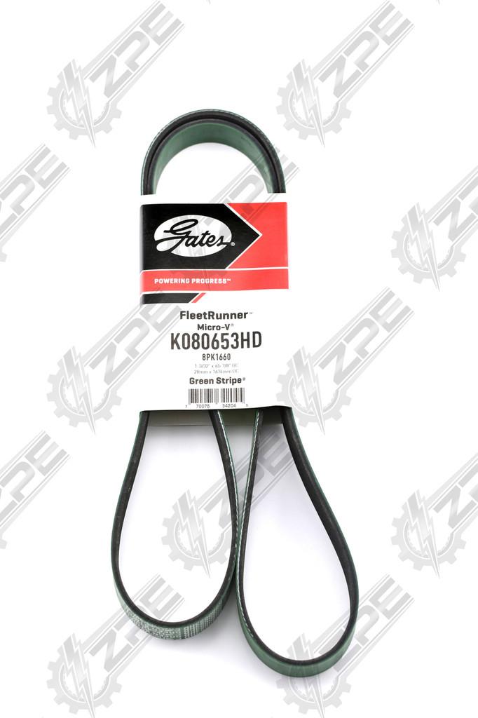 K080653HD, Green back Belt.