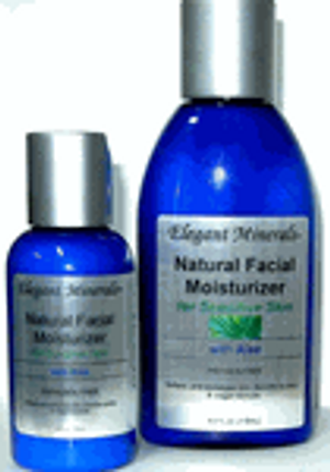 Natural Facial Moisturizer for Sensitive Skin