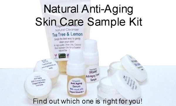 SAMPLE Natural & Organic Skin Care (your choice)