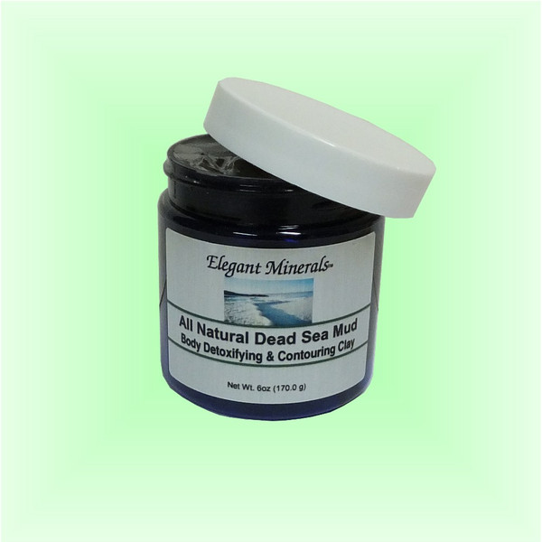 6oz. 100% All Natural Dead Sea Mud